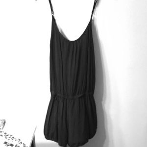 Cute romper with low back
